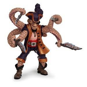 Papo Toy Figure - Octopus Mutant Pirate