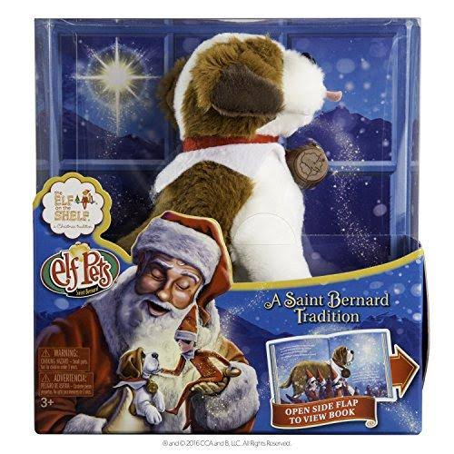 Elf Pets®: A St. Bernard Tradition - Chanda Bell