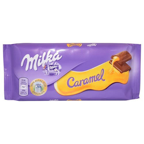 Milka Caramel Chocolate