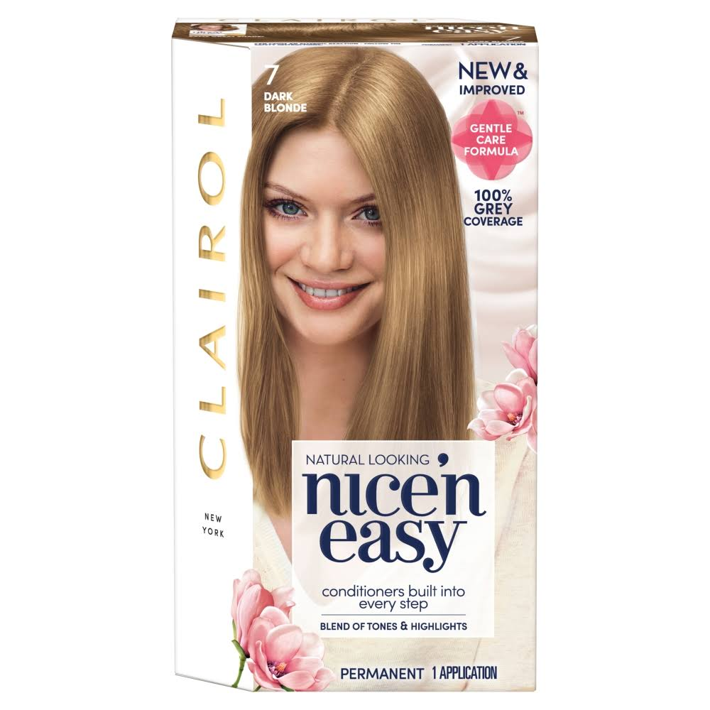 Nice'n Easy Permanent Hair Dye - 7 Dark Blonde