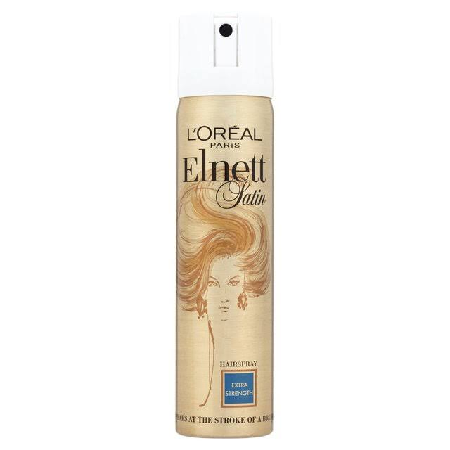 L'Oreal Elnett Satin Hairspray - Extra Strength, 75ml