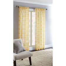 Black Sheer Curtains Walmart by Home Trends Sheffield Rod Pocket Panel 50