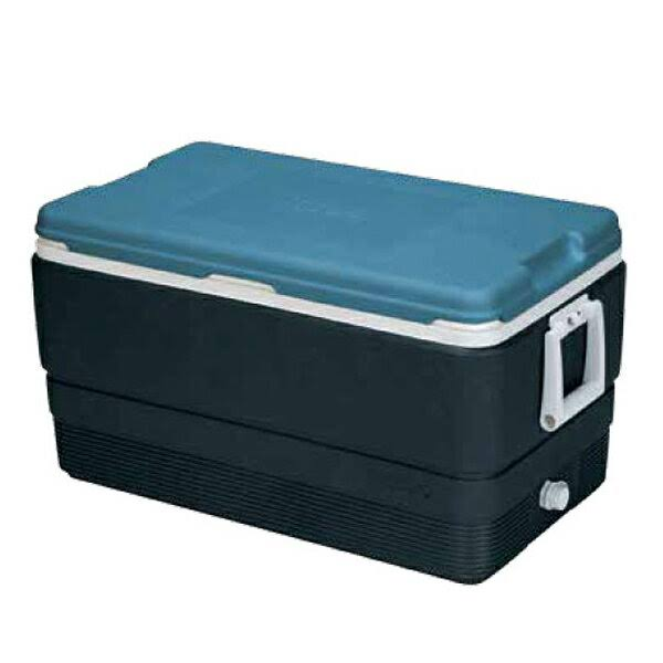 Igloo MaxCold Cooler - Jet Carbon/Ice Blue/White, 70qt