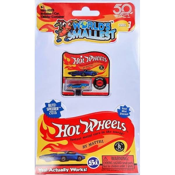World's Smallest Hot Wheels Car - Series 3