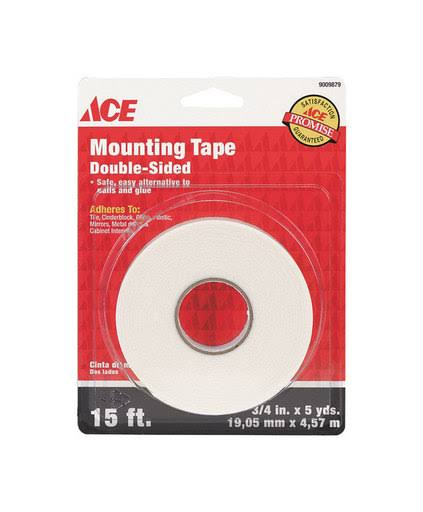 "Ace Double-Sided Mounting Tape - 3/4"" x 15'"