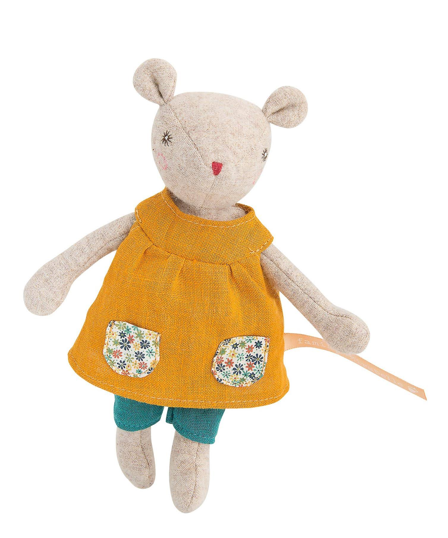 Moulin Roty Groseille Baby Sister Mouse Plush