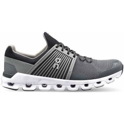 on Men's Cloudswift Running Shoes - Rock/Slate - 11