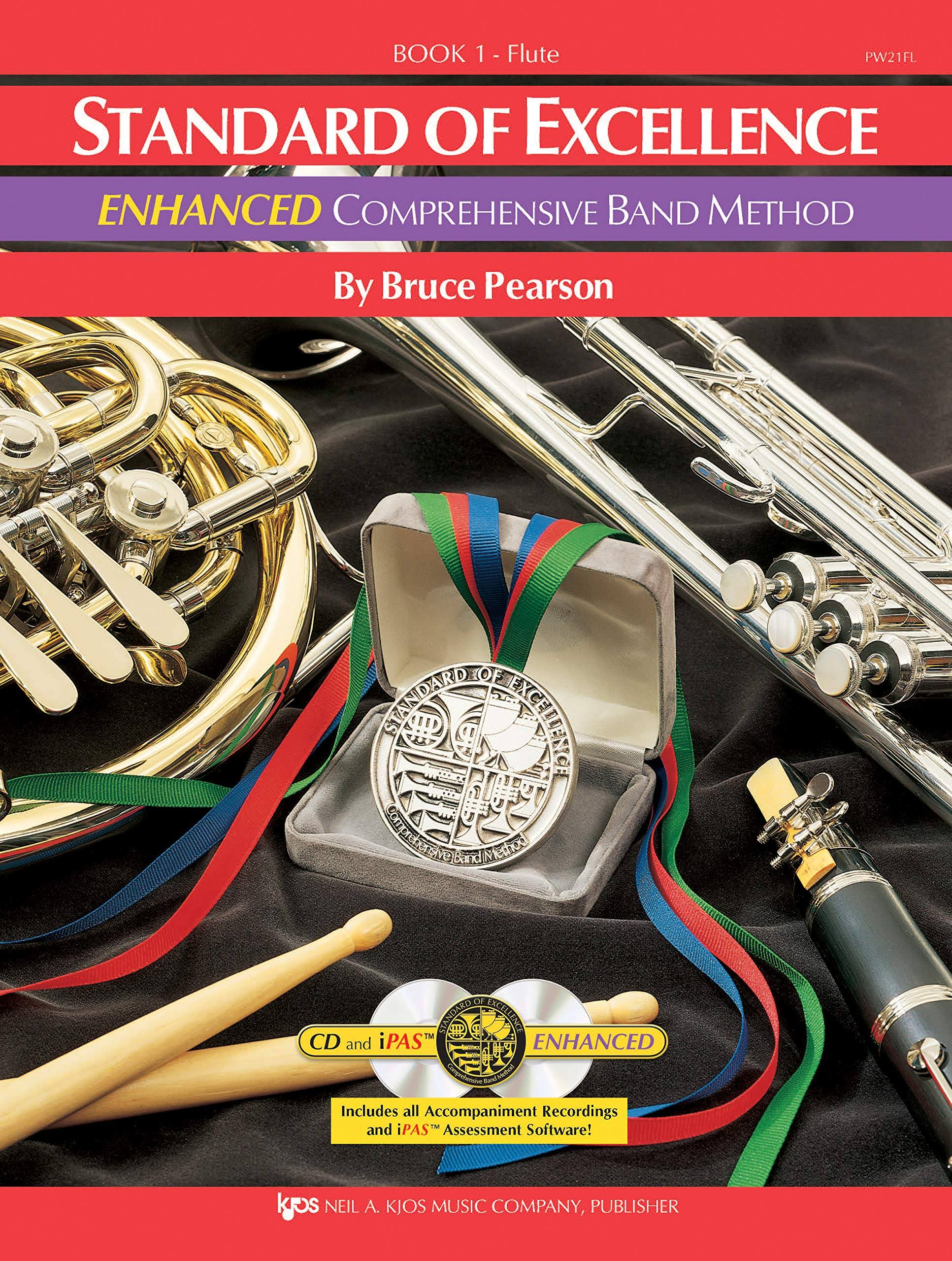 Standard of Excellence Enhanced Book 1: Flute - Bruce Pearson
