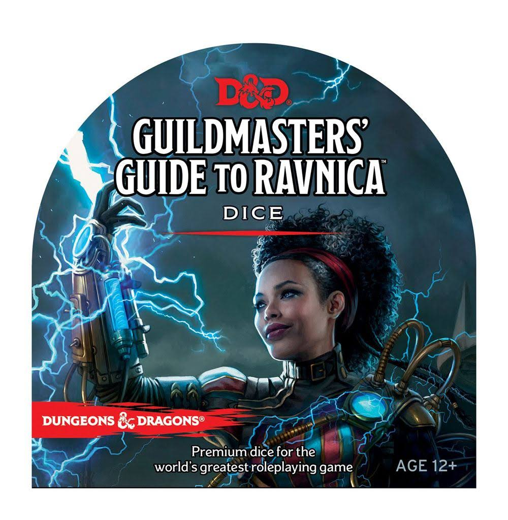 D and D Guildmasters Guide to Ravnica Dice - Wizards RPG Team