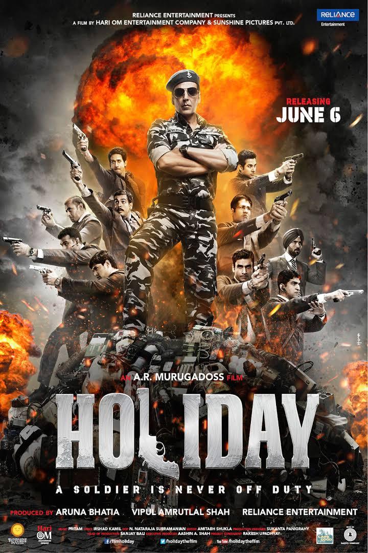 Holiday 2014 720p Hindi Movie Download Watch Online HD DVDRip