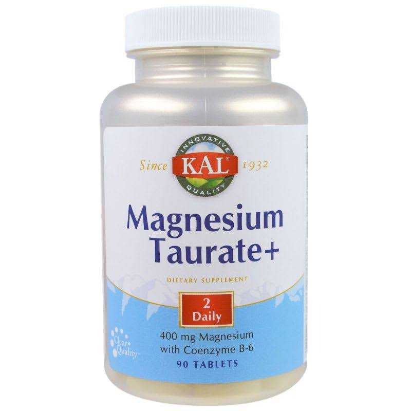 KAL Magnesium Taurate+ - 400mg, 90 Tablets