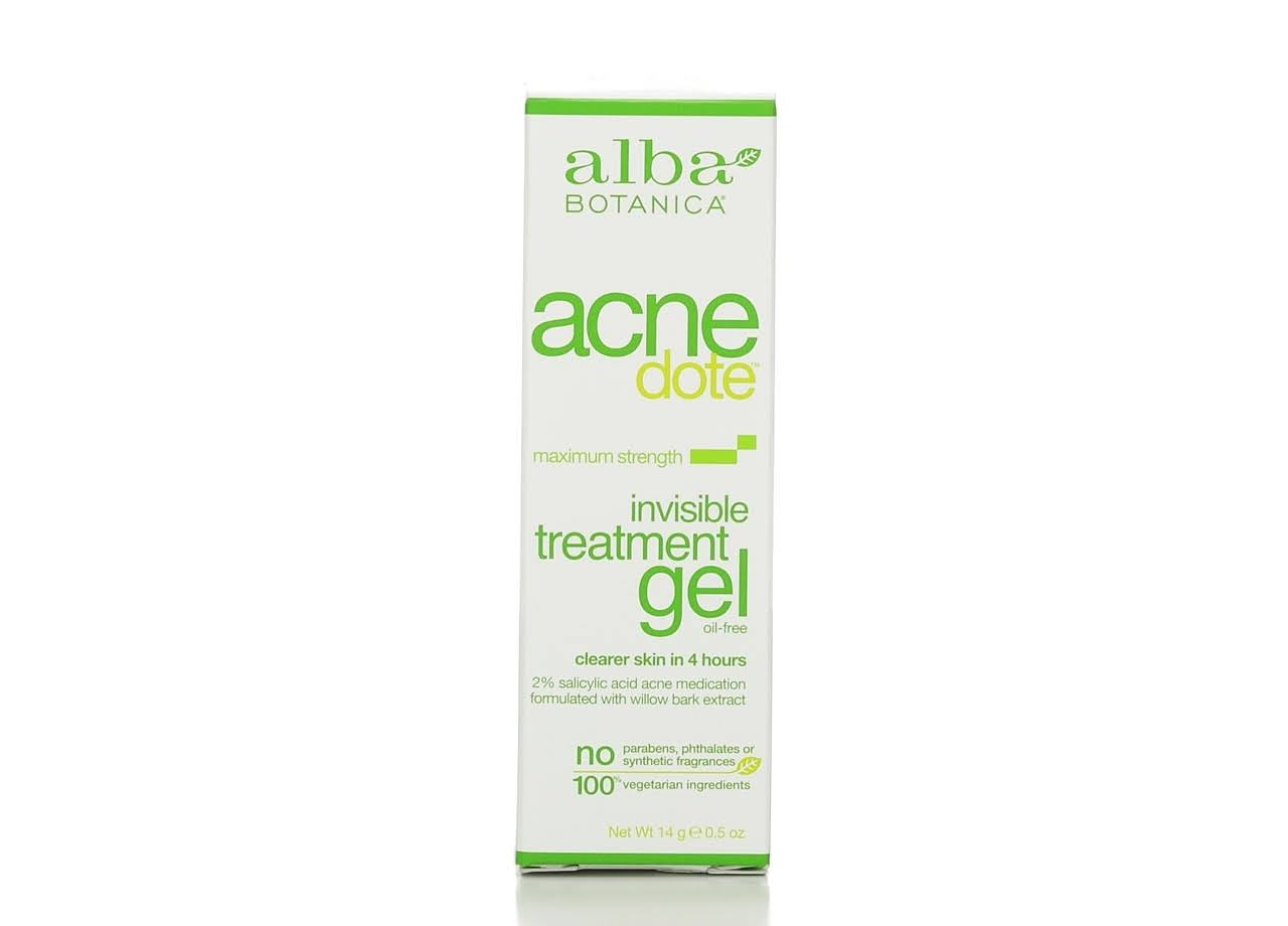 Alba Botanica Natural Acnedote Invisible Treatment Gel - 0.5oz