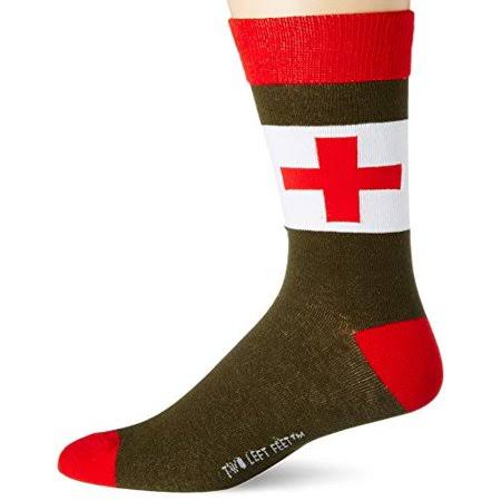 Two Left Feet The Medic Unisex Everyday Socks