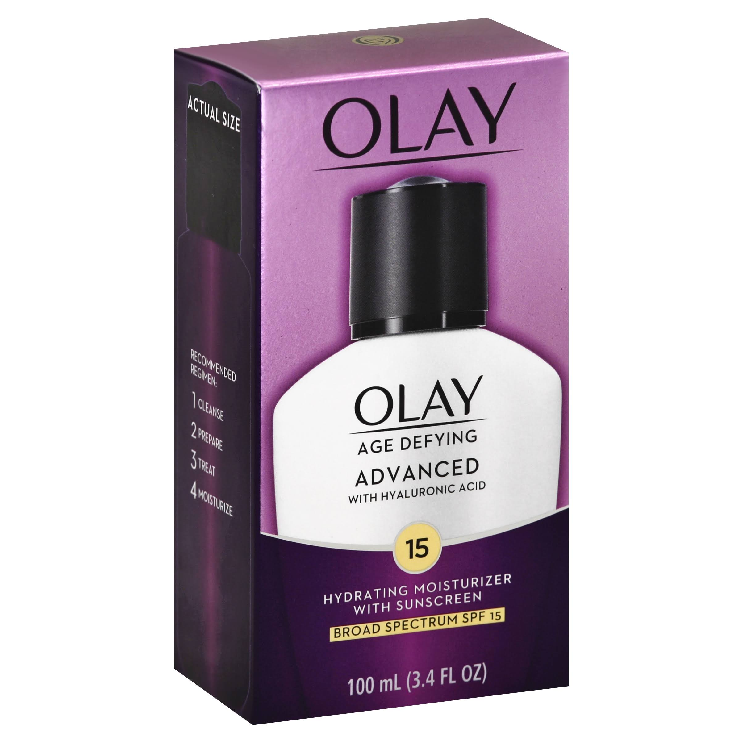 Olay Age Defying Advanced SPF 15 Moisturizer - 3.4oz