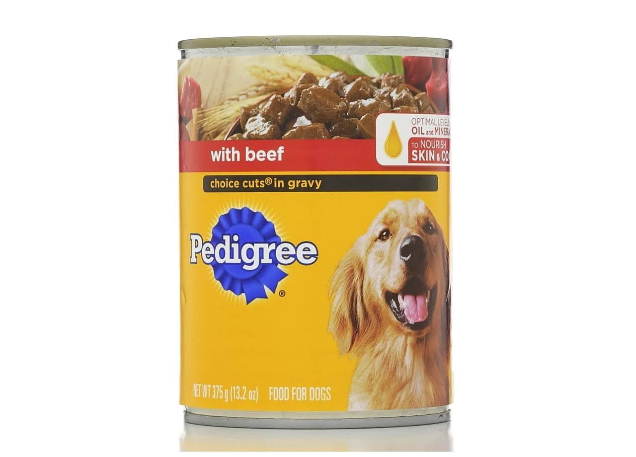 Pedigree Choice Cuts in Gravy Beef Wet Dog Food - 13.2 oz