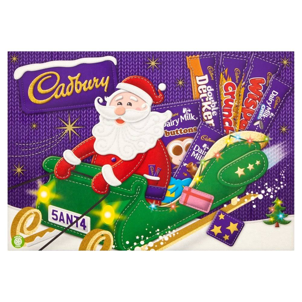 Cadbury Medium Santa Chocolate Selection Box - 169g