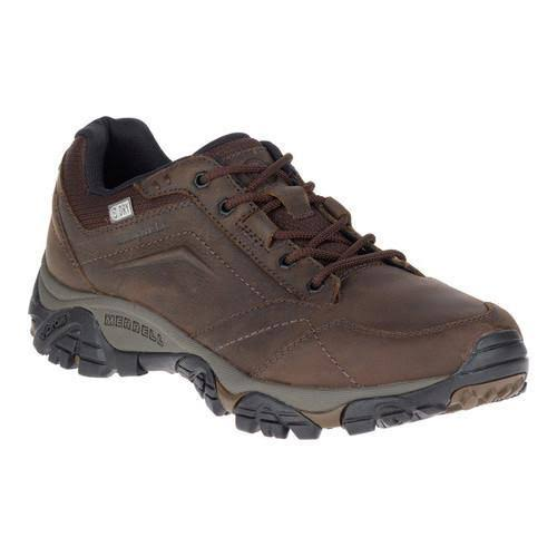 Merrell Men's Moab Adventure Lace Waterproof Hiking Shoes - Dark Earth, 11 US