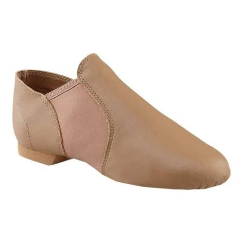 Capezio Women's E Series Jazz Slip On Shoes - Caramel, 3 W