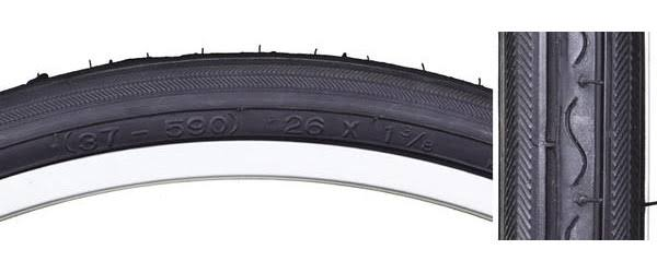 "Sunlite Blackwall Bicycle Tire - 27"" X 1 1/4"""