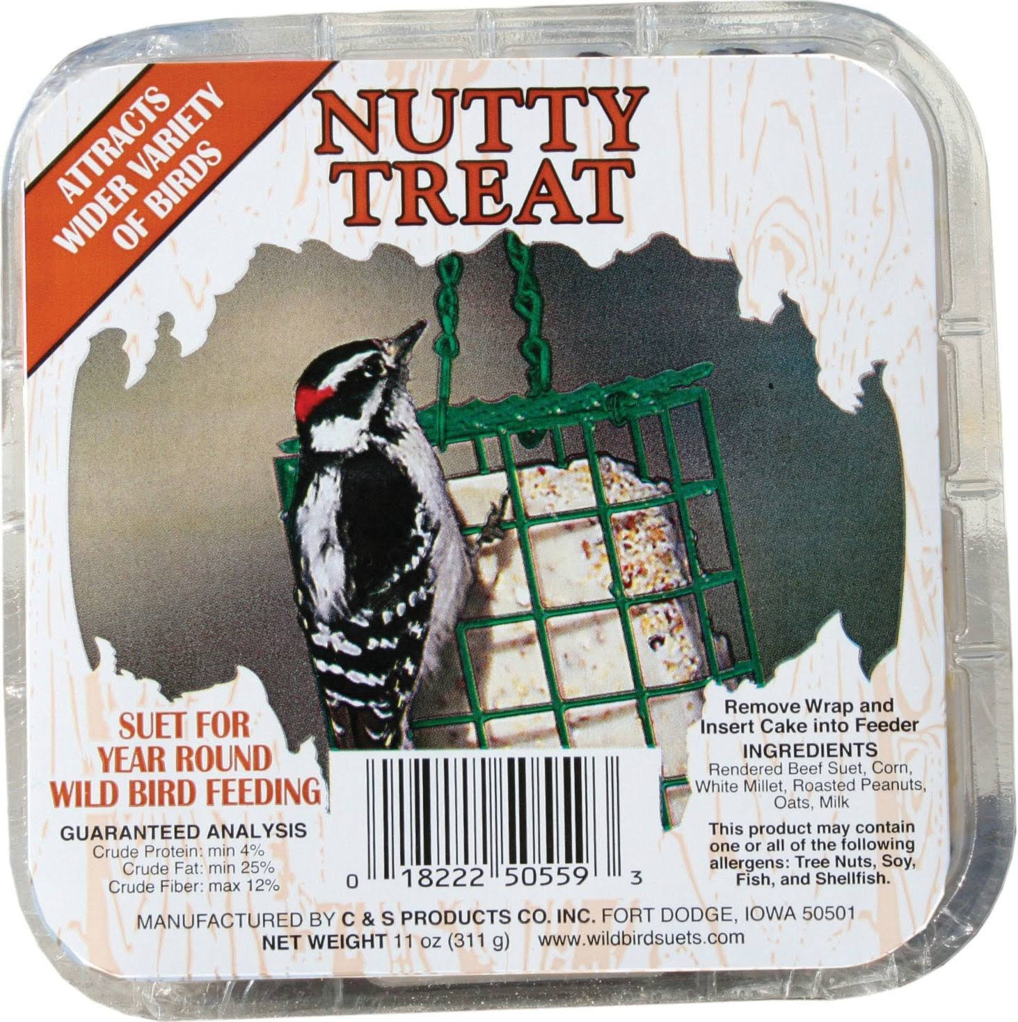 C. & S. Products Nutty Treat Suet