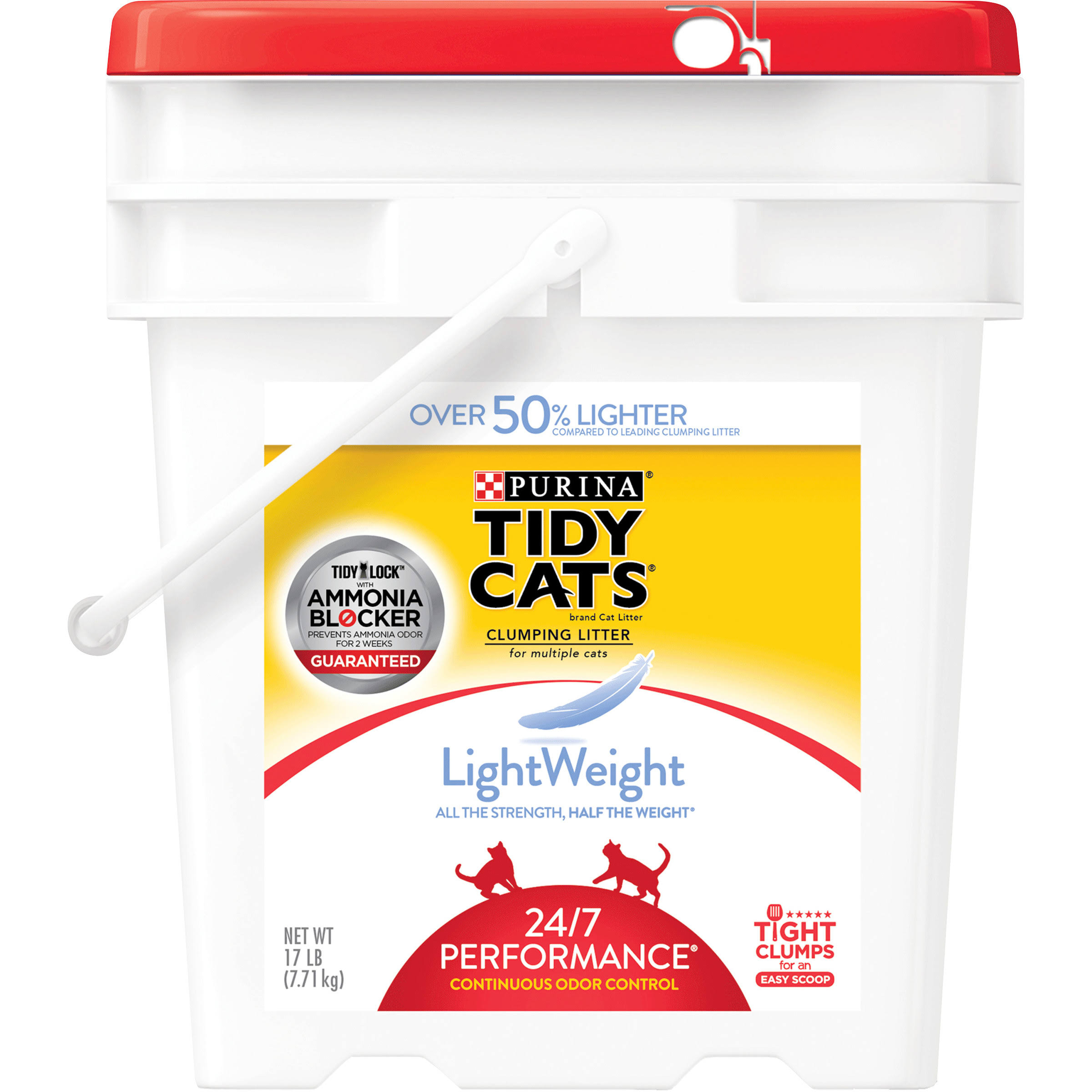 Purina Tidy Cats Light Weight 24/7 Performance Clumping Cat Litter