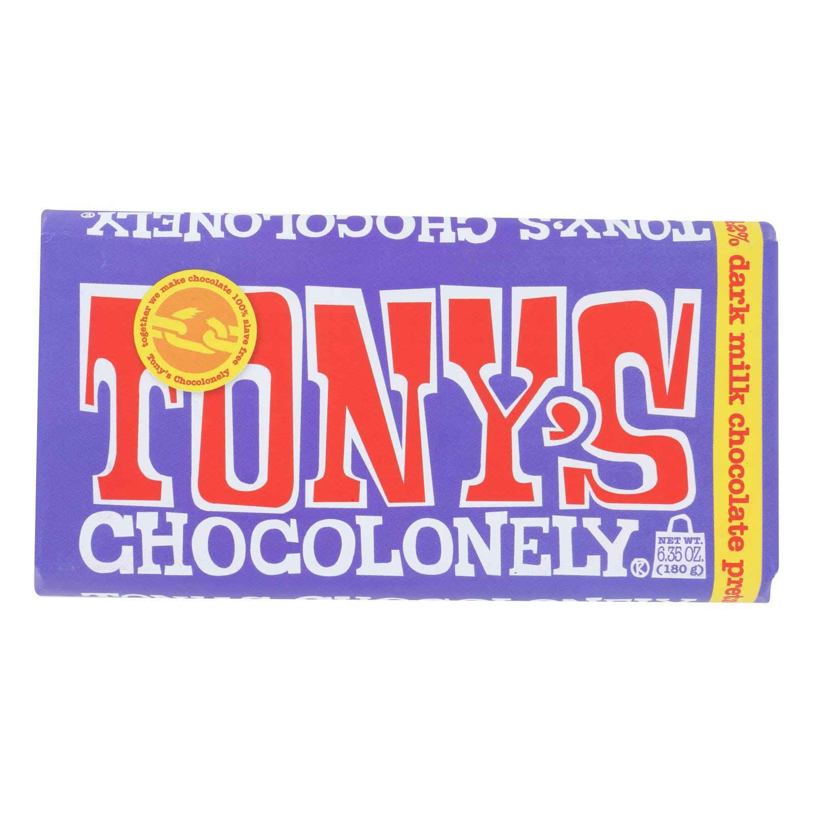 dTony's Chocolonely 42% Dark Milk Chocolate - 180g