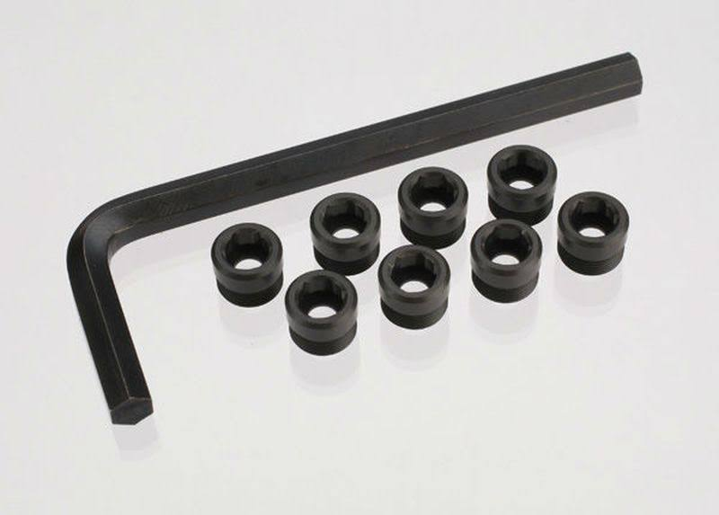 Traxxas Tra7033x Aluminum Pivot Ball Caps - With Hex Wrench