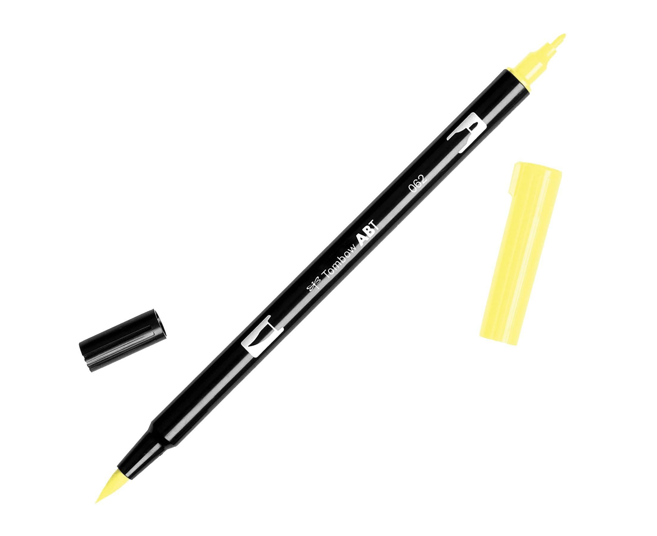 Tombow Dual Brush Marker - 062 Pale Yellow
