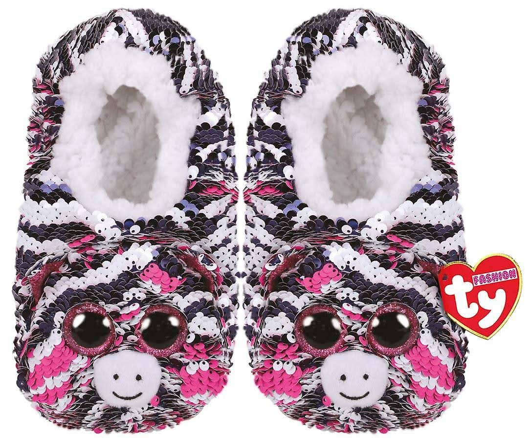 Ty Zoey - Sequin Slippers Med