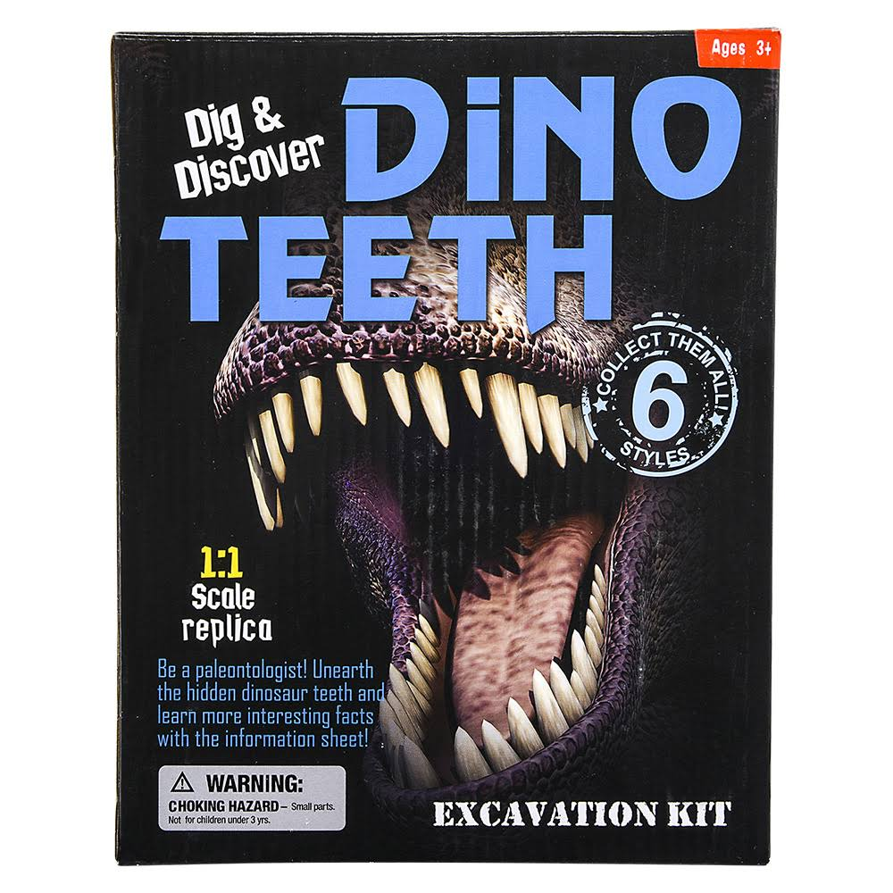 Adventure Planet Dinosaur Teeth Excavation Kit