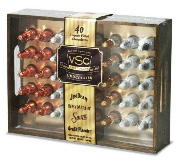 Very Special Chocolates Liquor Filled Chocolates Gift Box - 40 ct