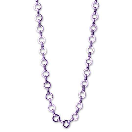 Charm It! Purple Chain Necklace 18""