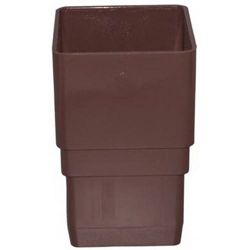 Genova Products Downspout Coupler - Brown