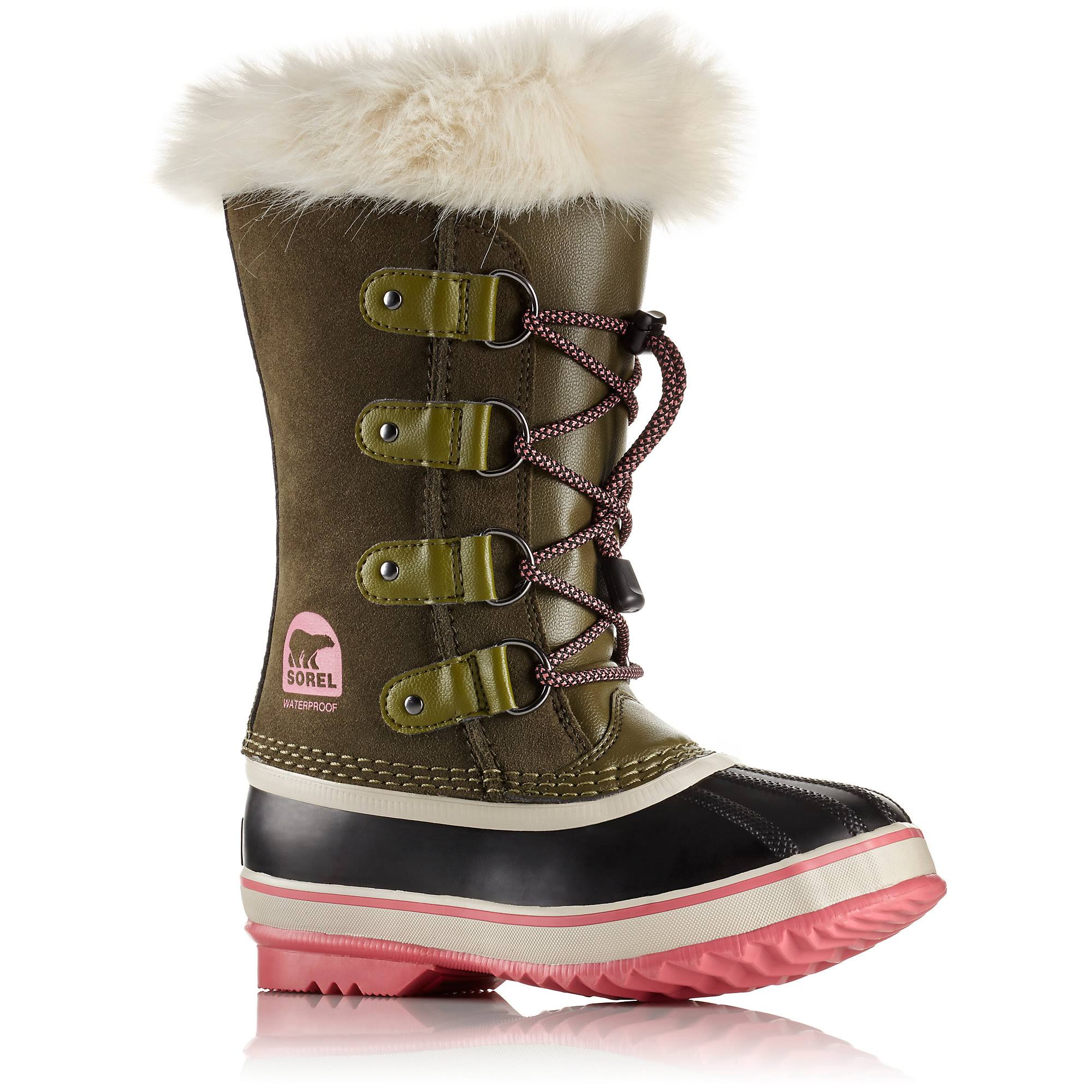 Sorel Youth Joan of Arctic Boot - 6 - Nori / Winter Rose