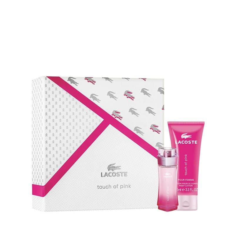 Lacoste Women's Touch of Pink Gift Set - 2pcs