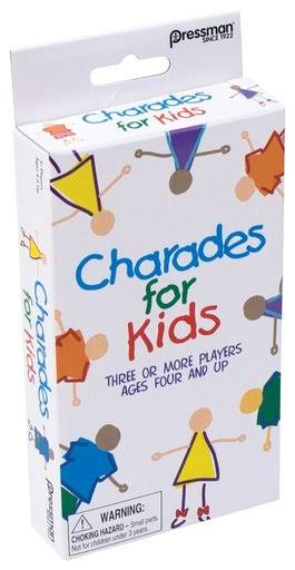 Pressman Toys Charades for Kids Peggable Game - 3 Player