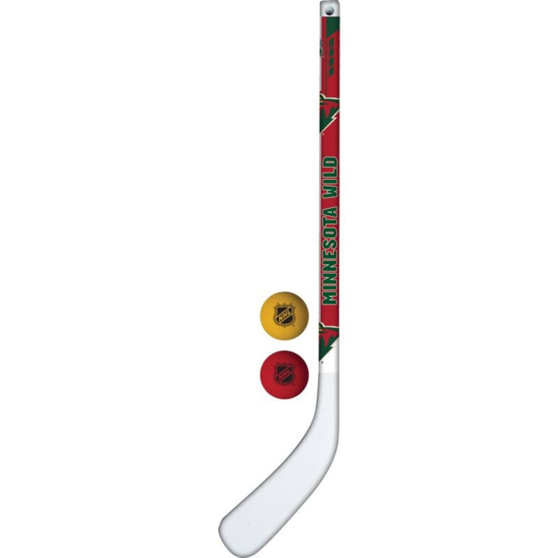 Franklin Minnesota Wild Mini Hockey Stick Set, Team