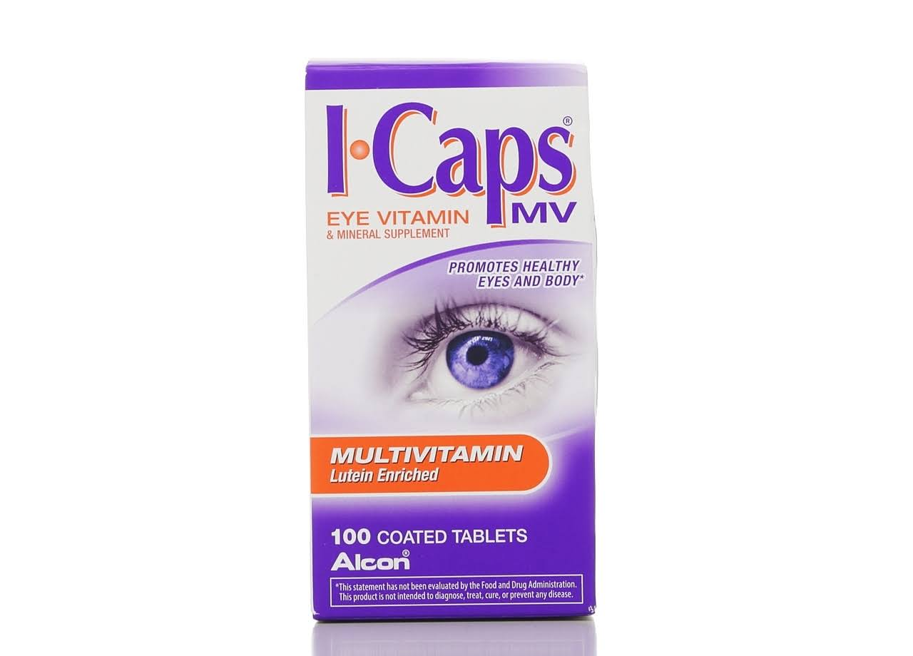 I Caps Multivitamin Lutein Enriched Eye Vitamin - 100ct