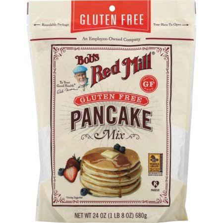 Bobs Red Mill Mix, Pan Cake, Gluten Free - 24 oz