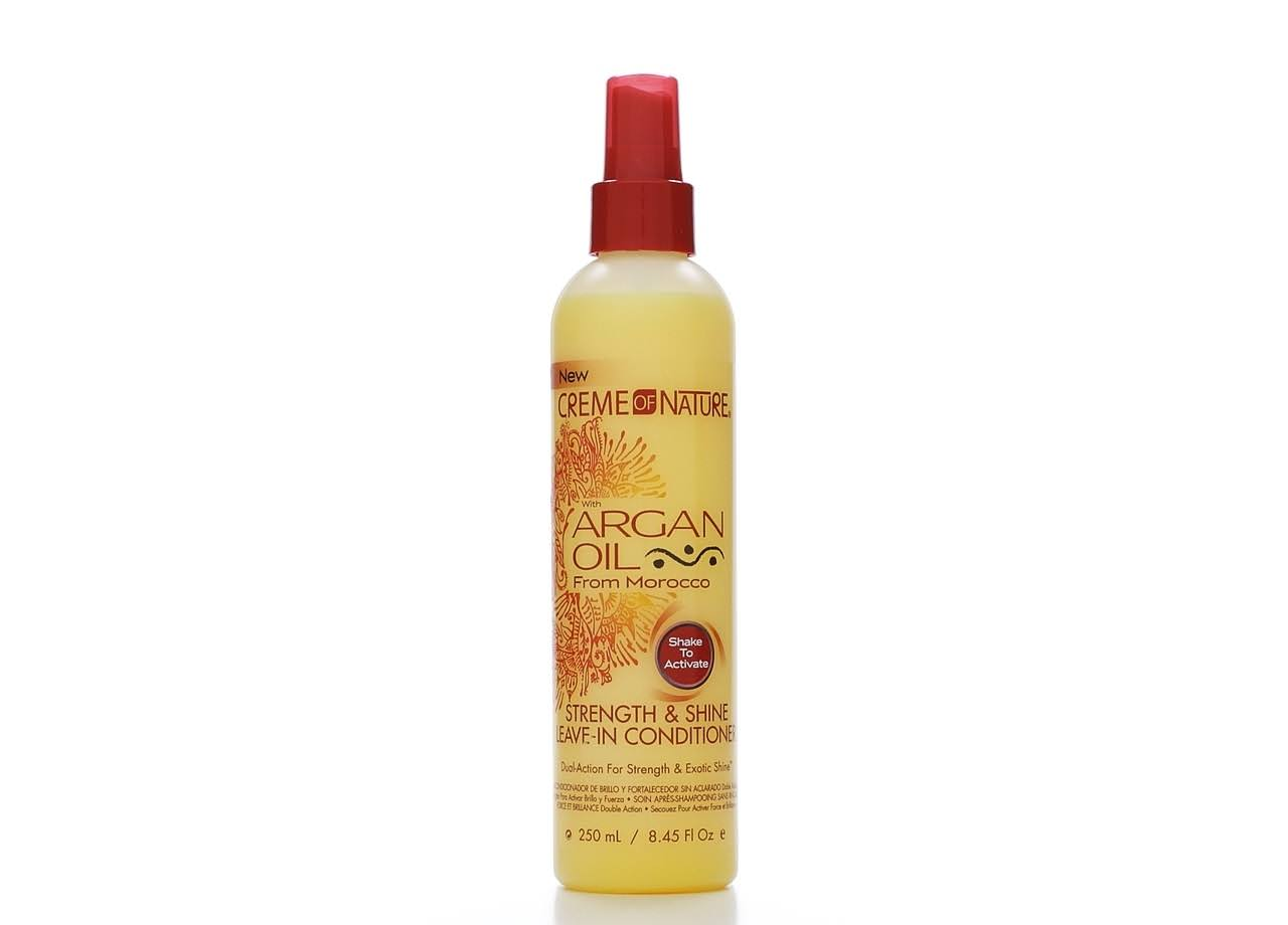 Creme of Nature with Argan Oil Strength and Shine Leave In Conditioner - 8.45oz