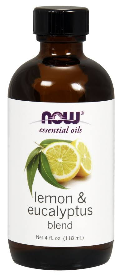 Now Foods Essential Oil Blend, Lemon & Eucalyptus - 4 fl oz bottle