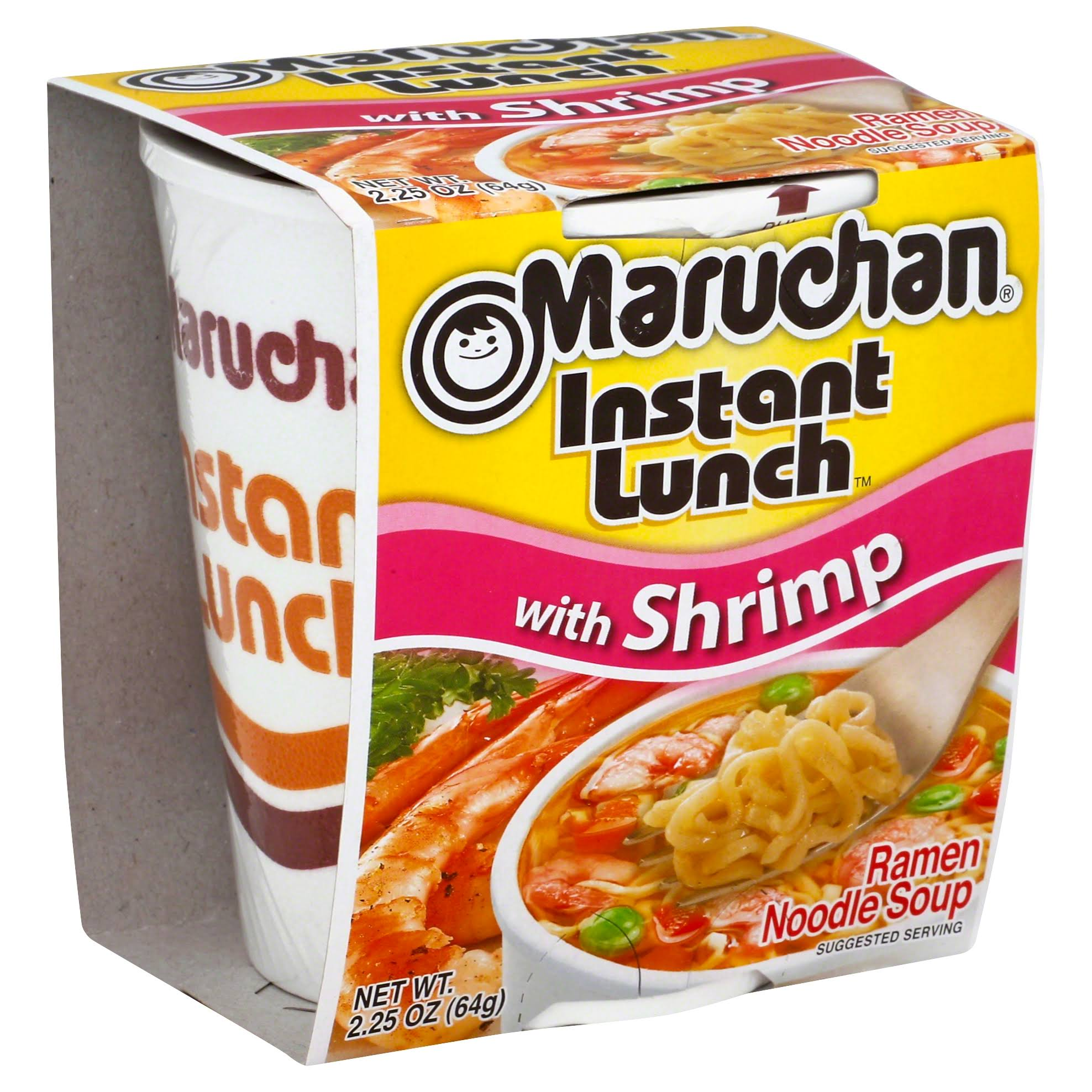 Maruchan Instant Lunch Ramen Noodle Soup - with Shrimp, 2.25oz