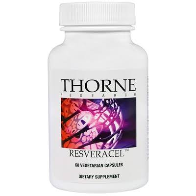 Thorne Research Resveracel Daily Body Care Dietary Supplement - 60ct