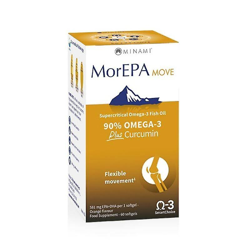 Minami MorEPA Move Flexible Movement Supplement - 60 Softgels