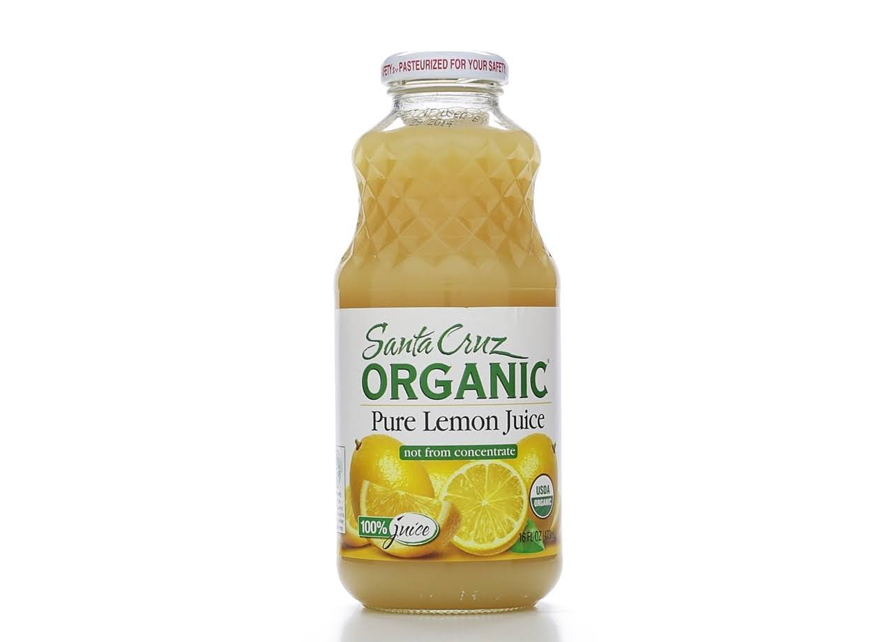 Santa Cruz Organic Juice - Pure Lemon, 473ml