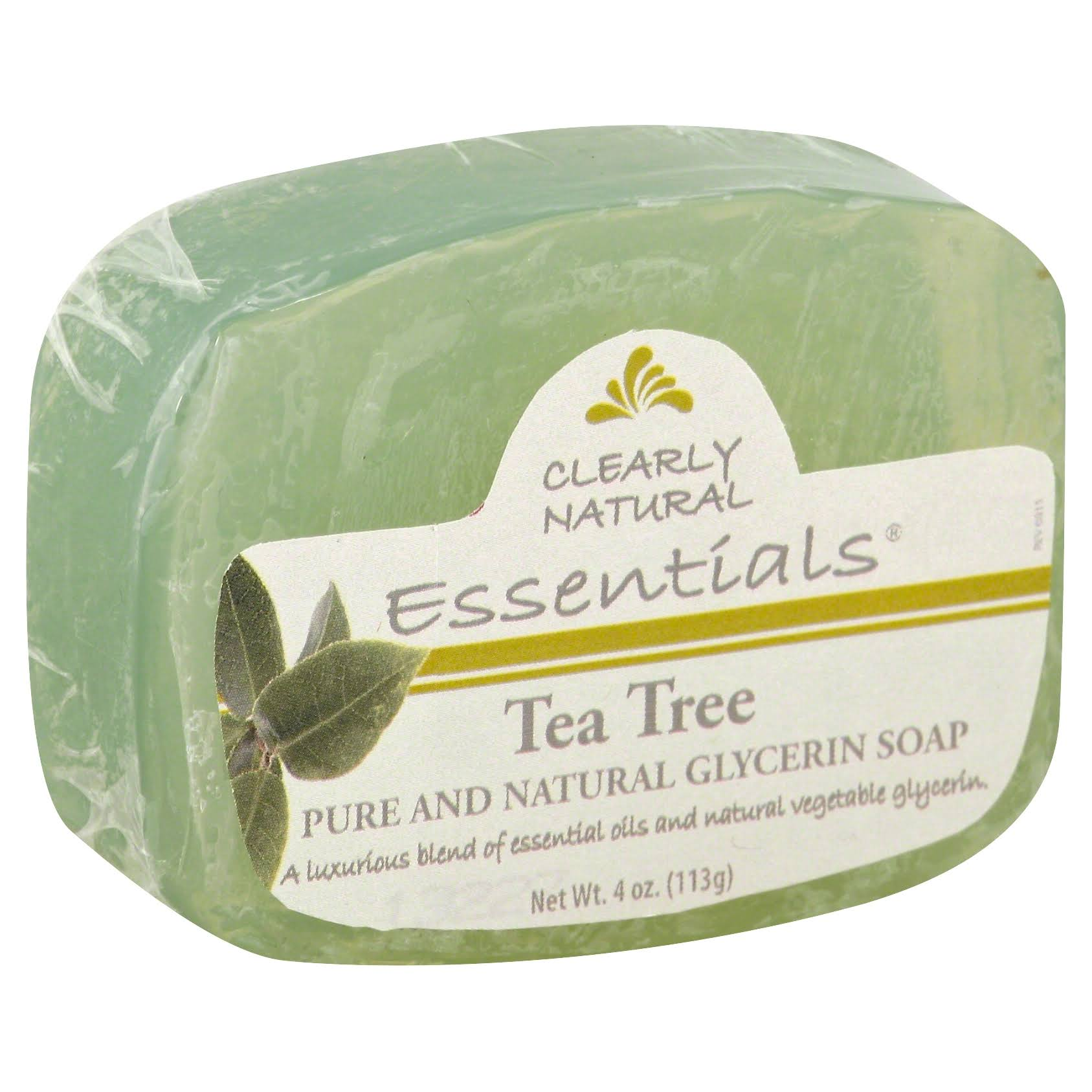 Clearly Natural Tea Tree Glycerine Soap