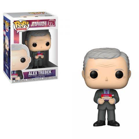 Funko Pop TV Television Alex Trebek Chase Jeopardy Vinyl Figure
