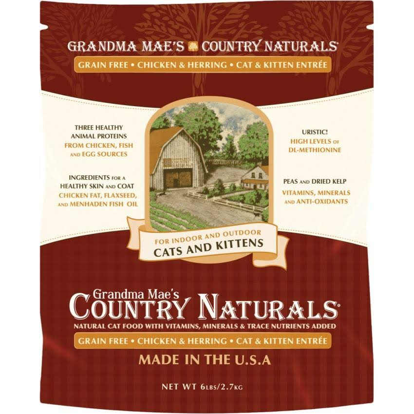 Grandma Maes Country Naturals Cat Food