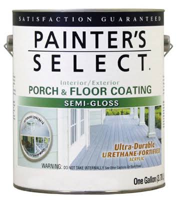 True Value 106662 1 Gal Exterior Semi-Gloss Porch & Floor Coating Urethane Fortified - Neutral Base