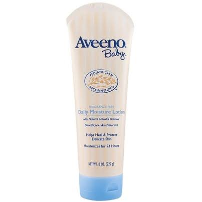 Aveeno Baby Fragrance Free Daily Lotion - 227g